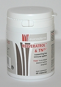 Resveratrol & TN25 Supplement  (60 capsules)